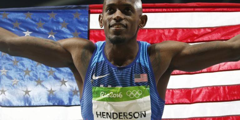 Amerikaan Henderson pakt verspringgoud