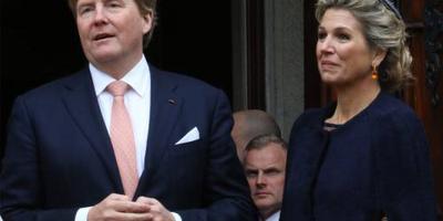 Koninklijk paar bezoekt hulpverleners Utrecht