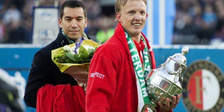 Kuijt wil door bij Feyenoord