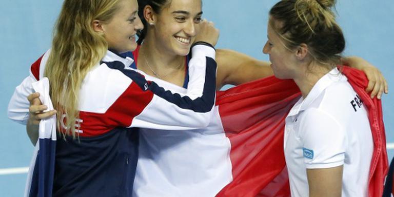 Frankrijk met sterkste team naar Fed Cup