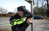 Lasercontrole van politie.