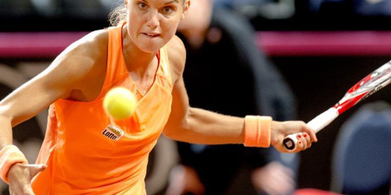 Tennisster Rus naar halve finales in Rome