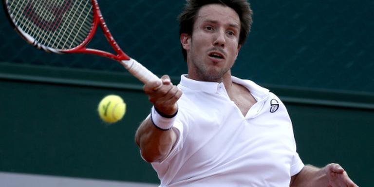 Tennisser Sijsling vrijdag tegen Mertens