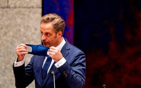 Hoeveel krediet heeft coronaminister Hugo de Jonge nog?