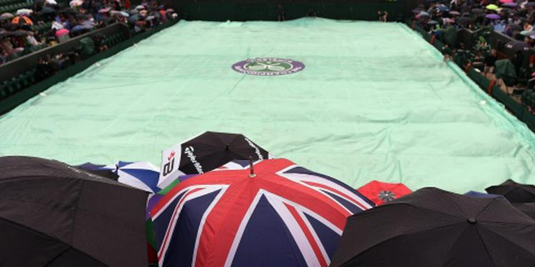 Mogelijk zondag wedstrijden op Wimbledon