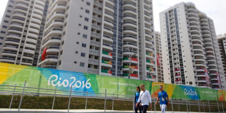 Evacuatie in olympisch dorp na brandje