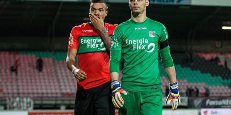 Feyenoord haalt Delle als derde keeper