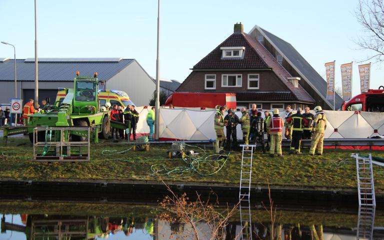Auto te water in Havelte; twee inzittenden overleden