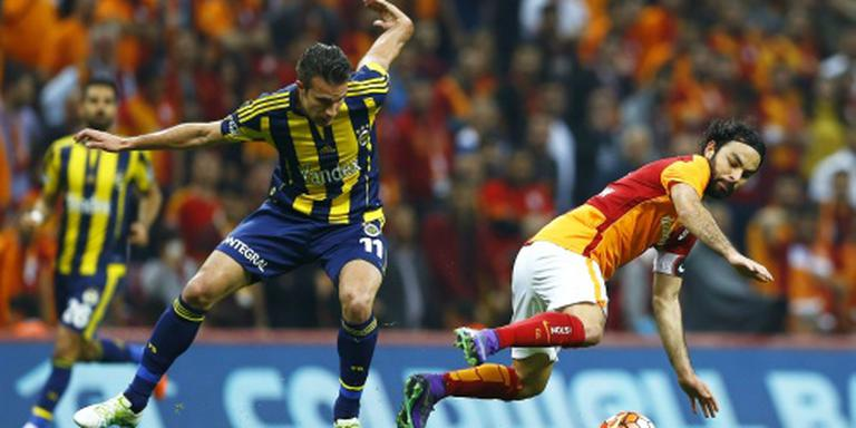 Geen winnaar bij Galatasaray - Fenerbahçe