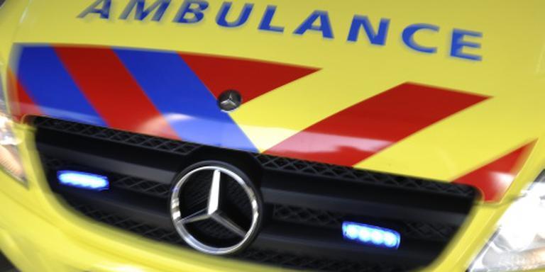 Motorrijder gewond na ongeval in Aduard.