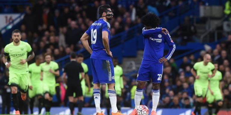 Chelsea geeft zege weg tegen Stoke City