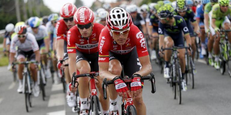 Wielrenner Bak zwaargewond na val in Giro