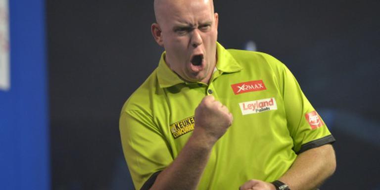 Van Gerwen wint Dutch Darts Masters