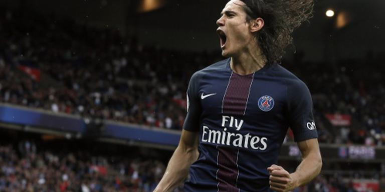 Cavani: acht doelpunten in acht duels bij PSG