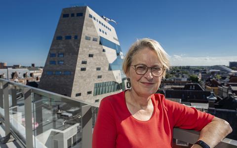 Cisca Wijmenga is als rector magnificus het visitekaartje van de RUG: 'Iedereen kijkt naar jou en verwacht iets van je'