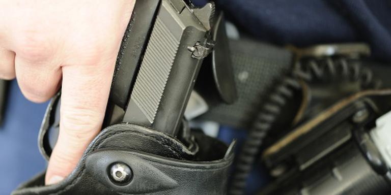 Politie lost schot bij aanhouding