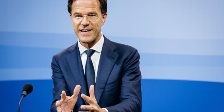 Rutte bezoekt Nederlandse militairen Bagdad