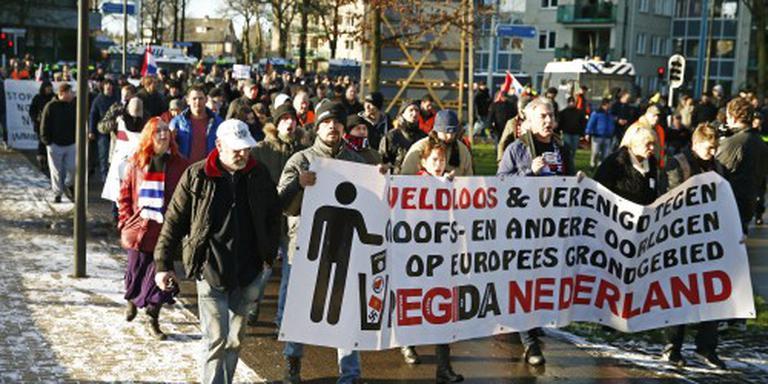 Demonstratie Pegida Apeldoorn rustig verlopen