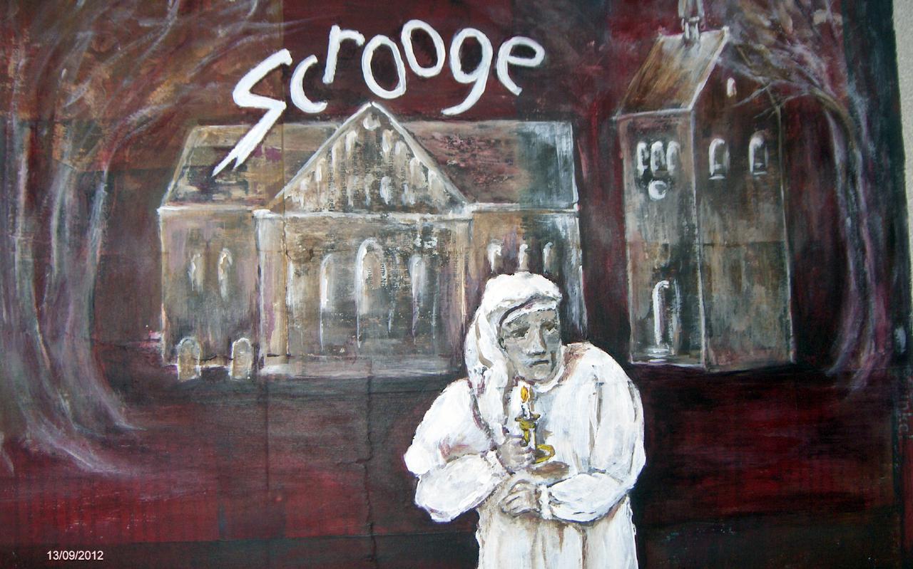 In Alteveer zijn woensdag audities gedaan voor het theaterstuk Scrooge