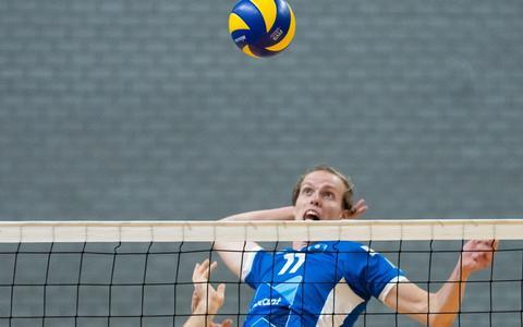 Volleyballer Sander Scheper heeft succesvolle jaren in de eredivisie achter zich. Maar nu is het tijd voor zijn maatschappelijke carrière