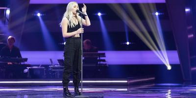 Daphne van Ditshuizen uit Havelte staat vrijdag in de finale van The Voice.