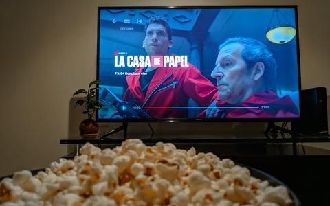 "De Netflix serie La Casa de Papel"" is erg populair"
