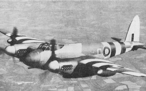 Een Havilland Mosquito XVIII