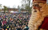 De intocht van Sinterklaas in Emmen in 2015.