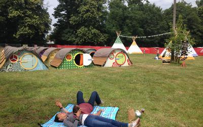 Lekker kamperen in hippie-stijl