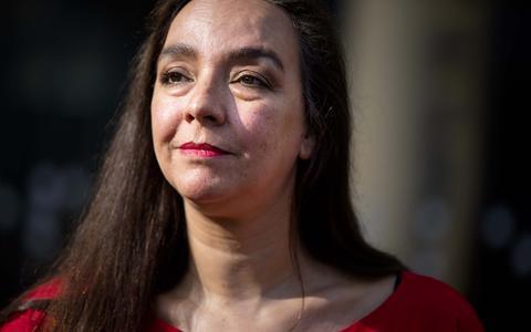 GroenLinks-wethouder Isabelle Diks.