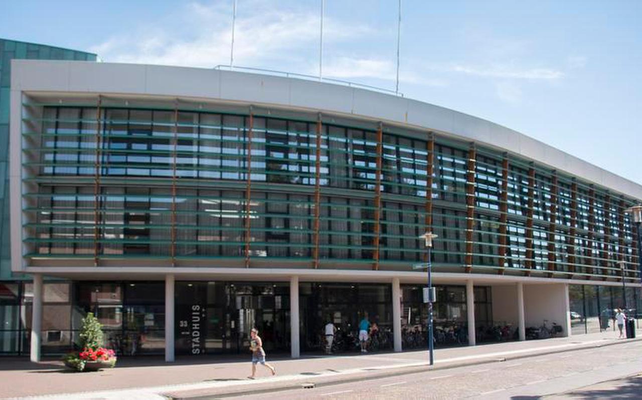 Het gemeentehuis van Assen. Foto: Archief/DVHN