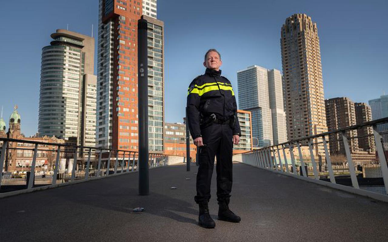 Fred Westerbeke, politiechef van de eenheid Rotterdam.