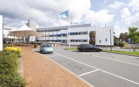 Het Refaja Ziekenhuis in Stadskanaal. De zorg in Noord-Nederland is steeds minder goed bereikbaar