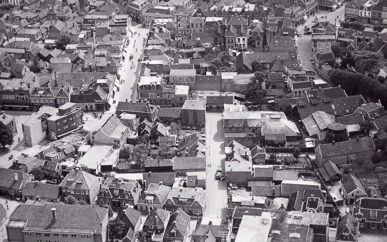 Luchtfoto van Assen.