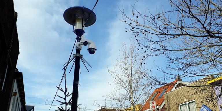In de Rolderstraat werden onlangs bewakingscamera's geplaatst om het toezicht te verscherpen.