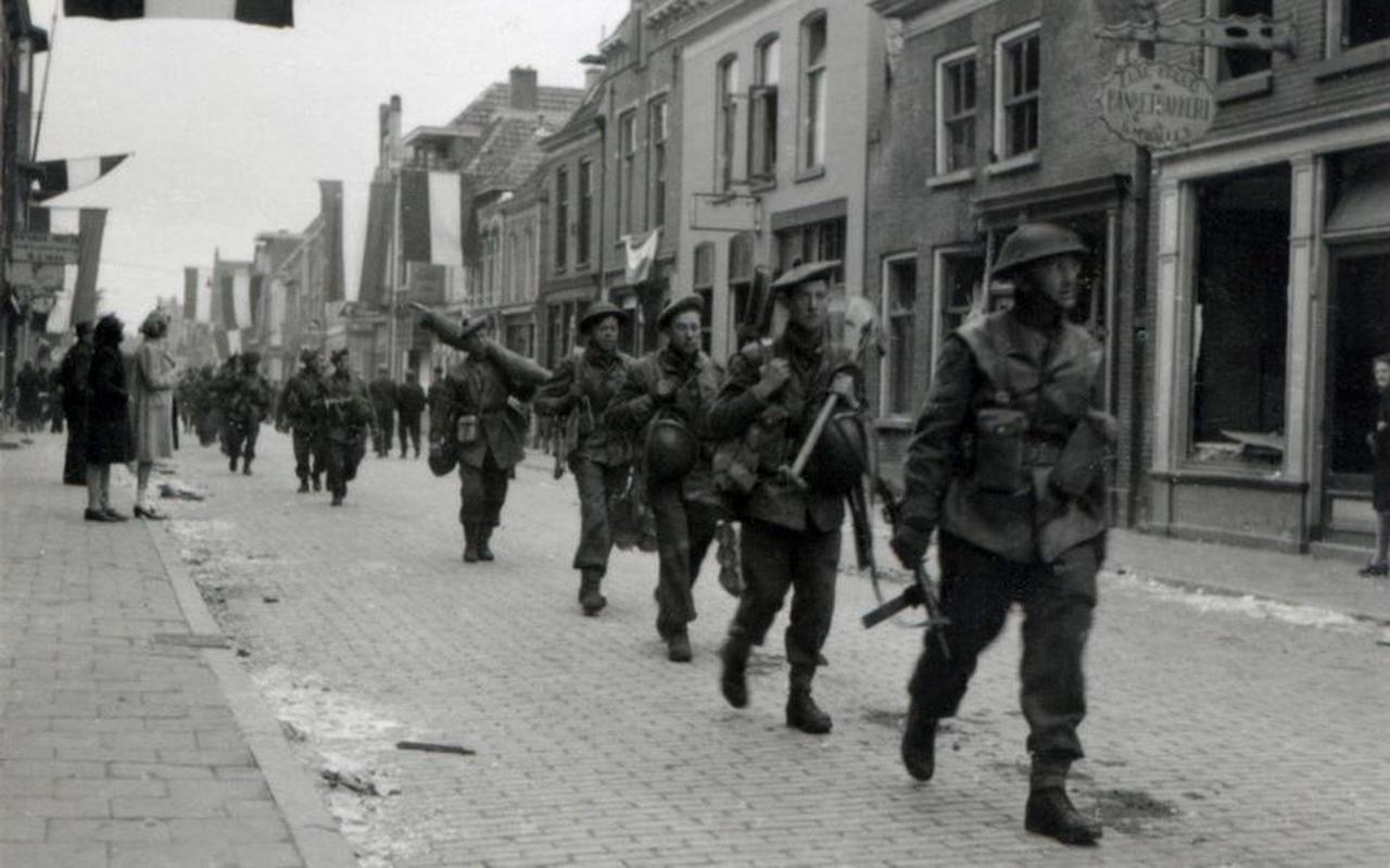 Bevrijding van Coevorden (op 6 april). Archief: Historische Vereniging Coevorden