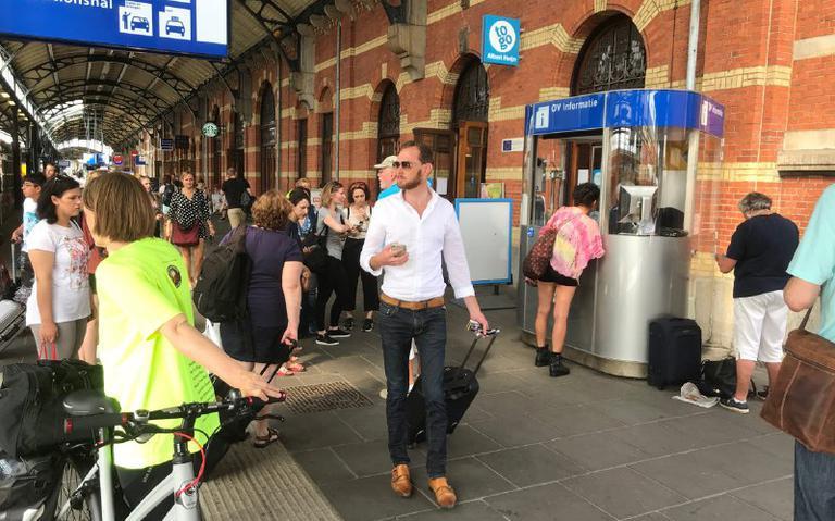 Geen treinen tussen Assen en Groningen Europapark door aanrijding met persoon.