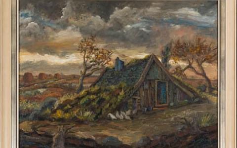 Plaggenhut vervangt Van Goghs Onkruidverbrandertje in Drents Museum