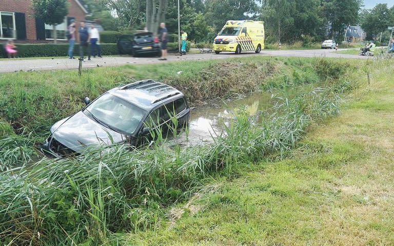 Gewonde bij ongeval in Doezem.
