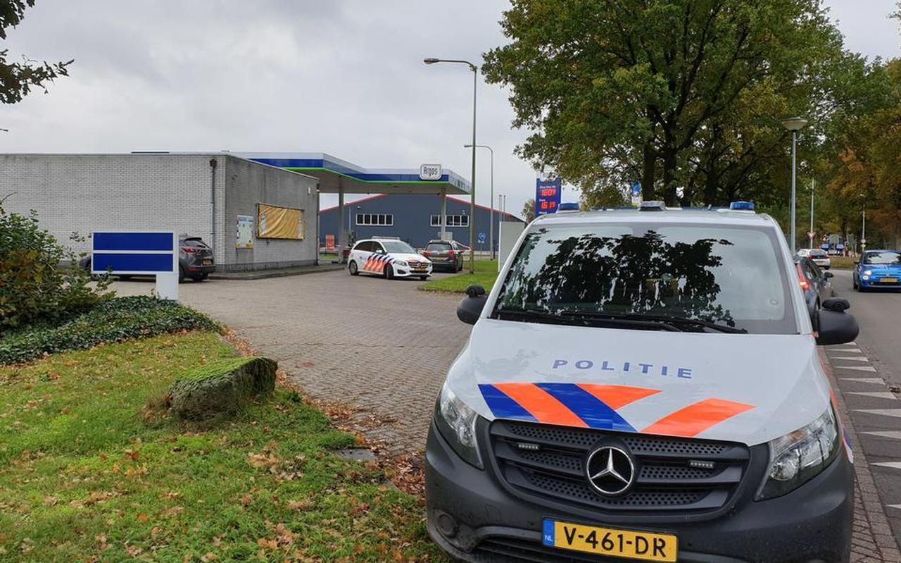De overval op het tankstation in Schoonoord is eind vorig jaar op klaarlichte dag gepleegd. Foto: Persbureau Meter