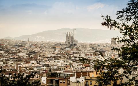 Barcelona op de fiets