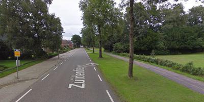 Zowel vorig weekend als vorige maand werden de voorwerpen gevonden tussen de Wilhelminalaan en de 49e laan. Foto Google Streetview