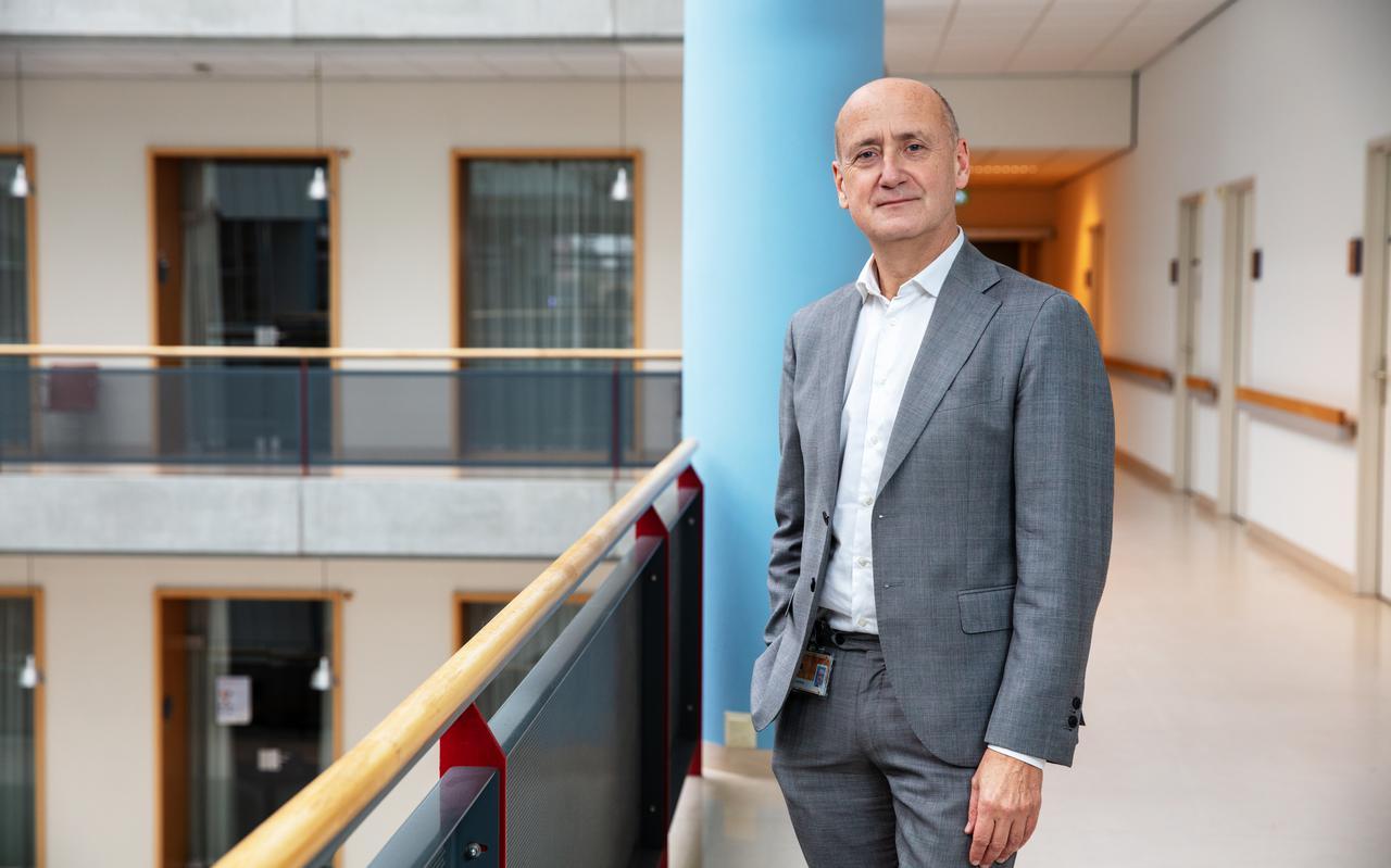 Ate van der Zee, bestuurder van het UMCG en voorzitter van het Acute Zorg Netwerk Noord Nederland.