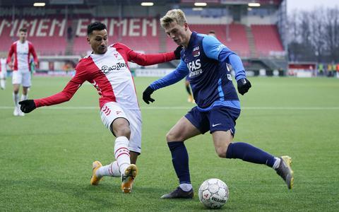 FC Emmen in eigen huis niet opgewassen tegen AZ. De Alkmaarders hebben genoeg aan één doelpunt