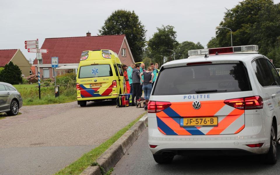 Bestuurder speed-pedelec gewond na val en aanrijding in Borger.