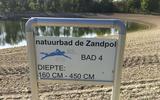 Natuurbad Zandpol dolblij met supermoderne camera ('Helaas is dit nodig')