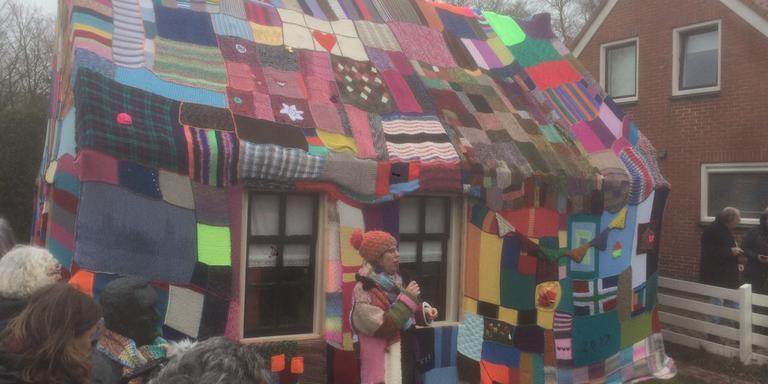 Kunstenares Agnes Bakker aan het woord