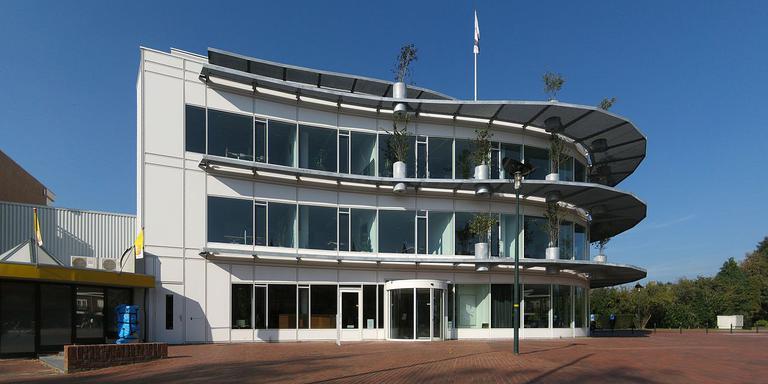 Het gemeentehuis in Haren.