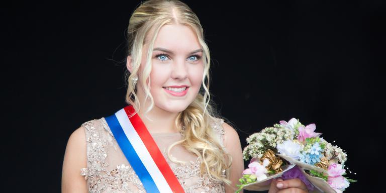 Chantal Scholten wint Miss Summer Verkiezing. FOTO GUIDO VELTMAAT