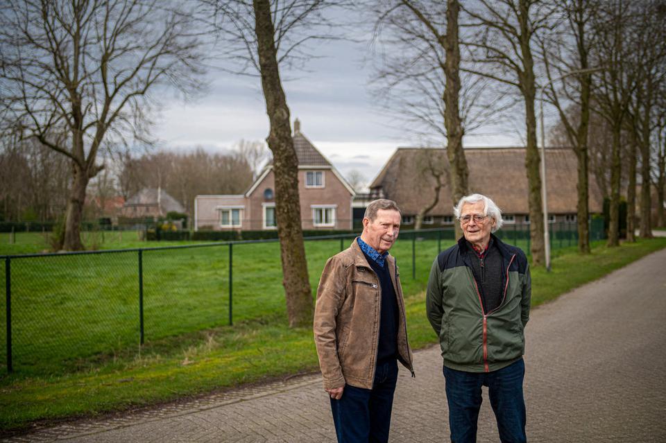 Roelof Boer en Boers waren getuige van de brand op 31 maart 1945.